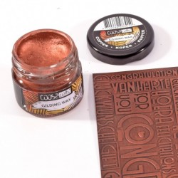 (COC-002)COOSA Crafts • Gilding wax metal copper 20ml