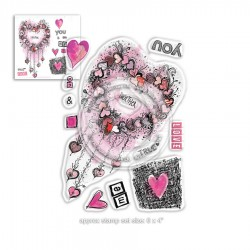 (PD8020)Polkadoodles Me & You Clear Stamps