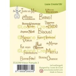 (55.6340)Clear Stamp Voeux Français 3