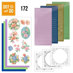 (DODO172)Dot and Do 172 - Aquarel Tulipes