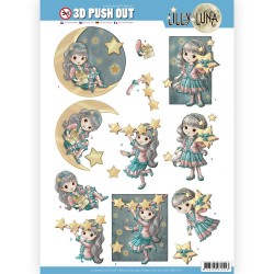 (SB10421)3D Pushout - Lilly Luna - Shine like a Star