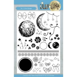 (LLCS10005)Clear Stamps - Lilly Luna