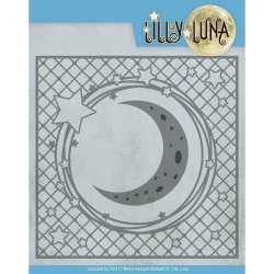 (LL10005)Dies - Lilly Luna - Stars and Moon Frame