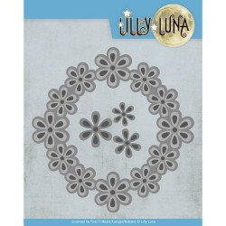 (LL10006)Dies - Lilly Luna - Pop Up Flowers Frame