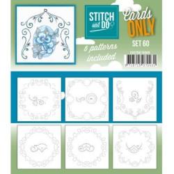 (COSTDO10060)Stitch & Do - Cards only - Set 60