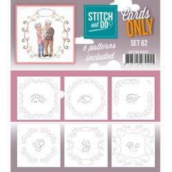 (COSTDO10062)Stitch & Do - Cards only - Set 62