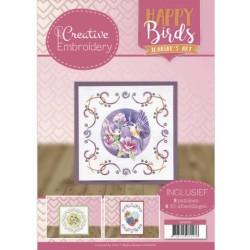 (CB10010)Creative Embroidery 10 - Jeanine's Art - Happy Birds