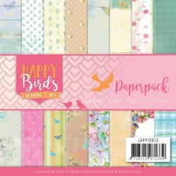 (JAPP10013)Paperpack - Jeanine's Art - Happy Birds