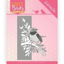 (JAD10086)Dies - Jeanine's Art - Happy Birds - Bird Edge