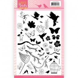 (JACS10030)Clear Stamps - Jeanine's Art - Happy Birds