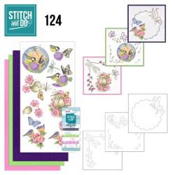 (STDO124)Stitch and Do 124 - Happy Birds