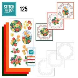 (STDO125)Stitch and Do 125 - Spring Flowers