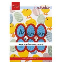 (LR0643)Creatables Easter eggs