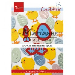 (LR0644)Creatables Tiny's Easter chick