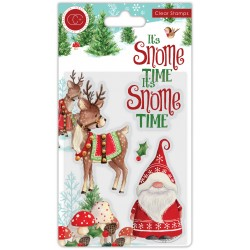 (CCSTMP013)Craft Consortium It's Snome Time Clear Stamps