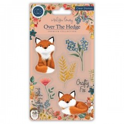 (CCSTMP017)Craft Consortium Henry the Fox Clear Stamps