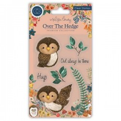 (CCSTMP018)Craft Consortium Olivia the Owl Clear Stamps