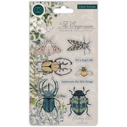 (CCSTMP019)Craft Consortium The Emporium Beetles Clear Stamps
