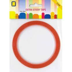 (3.3183)JEJE Produkt Extra Sticky Tape 3 mm