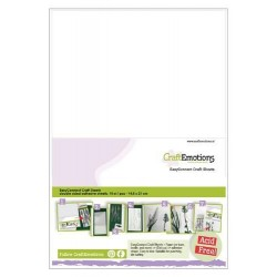 (119491/0005)CraftEmotions EasyConnect (double sided adhesive) Craft sheets A5 - 10 sheets