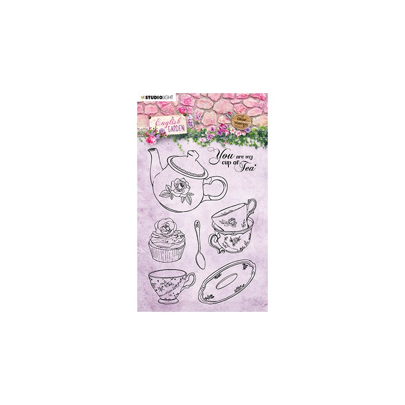 (STAMPEG431)Studio light Stamp English Garden nr.431