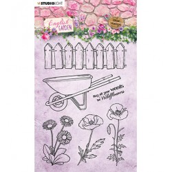 (STAMPEG433)Studio light Stamp English Garden nr.433