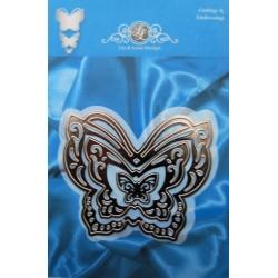 (1201/0070)Lin & Lene stencil set (3pc) butterfly