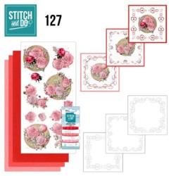 (STDO127)Stitch and Do 127 - Ladybug