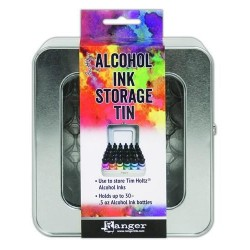 (TAC58618)Ranger Alcohol Ink Storage Tin Tim Holtz