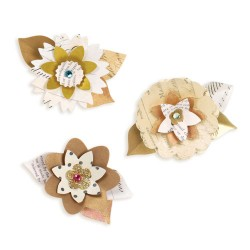 (658340)Sizzlits Decorative Strip Summer Florals