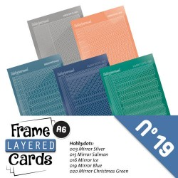 (LCST019)Stickerset Layered frame cards 19