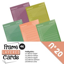 (LCST020)Frame Layered Cards 20 - Stickerset