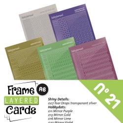 (LCST021)Frame Layered Cards 21 - Stickerset
