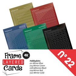(LCST022)Frame Layered Cards 22 - Stickerset