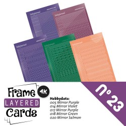 (LCST023)Frame Layered Cards 23 - Stickerset