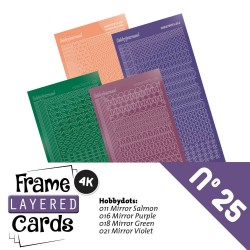 (LCST025)Frame Layered Cards 25 - Stickerset