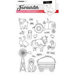(STAMPSL424)Studio light Stamp Essentials Nr. 424