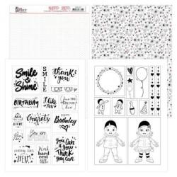 (YCMC1007)Mica Sheets - Yvonne Creations - Petit Pierrot