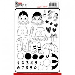 (YCCS10056)Clear Stamps - Yvonne Creations - Petit Pierrot
