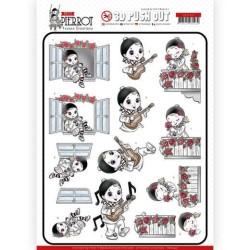 (SB10431)3D Pushout - Yvonne Creations - Petit Pierrot - Serenade