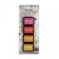 (AITK64855)Ranger Tim Holtz distress archival mini ink pad kit 1