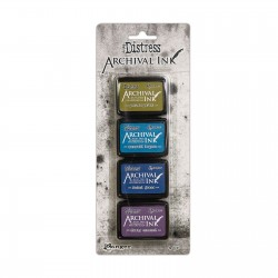 (AITK64862)Ranger Tim Holtz distress archival mini ink pad kit 2