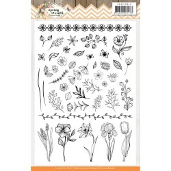 (PMCS10043)Clear Stamps - Precious Marieke - Spring Delight