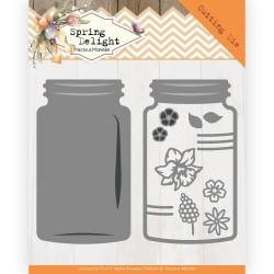 (PM10170)Dies - Precious Marieke - Spring Delight - Spring Jar