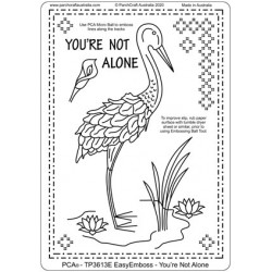 (TP3613E)PCA® - EasyEmboss You're Not Alone