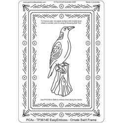(TP3614E)PCA® - EasyEmboss Ornate Swirl Frame