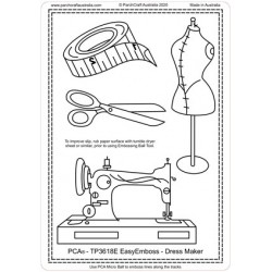 (TP3618E)PCA® - EasyEmboss Dress Maker