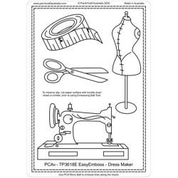 (TP3618E)PCA® - EasyEmboss Dress Maker