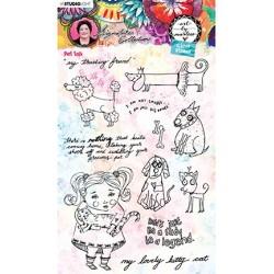 (STAMPBM50)Studio light Clear Stamp, Art By Marlene 5.0 nr.50