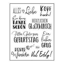 (4003 214 00)Clear Stamps - Alles Liebe